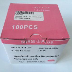 M004.025 Needles 18G x 40mm (100)